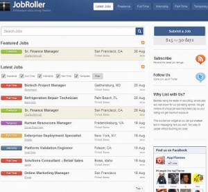 job roller wordpress 300x277 Website Clones and Templates