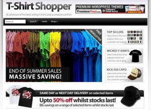 shopperpress ecommerce template 300x219 Website Clones and Templates