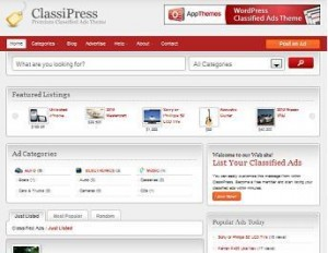 classipress classified ads wordpress 300x232 Kijiji Clone   How to Create A Site Like Craigslist or Kijiji