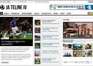 premium news template CNN Clone   Premium News & Magazine Template