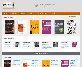 bookclub template wordpress Website Clones and Templates
