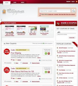 coupon template wordpress 274x300 Website Clones and Templates