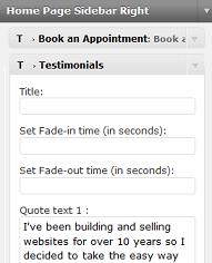 appointments testimonials template Tips for the Appointments Wordpress Theme