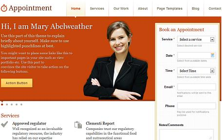 dr lawyers appointments template Appointments Booking WordPress Theme