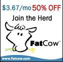 fatcow Recommended Webhosting for WordPress or Joomla