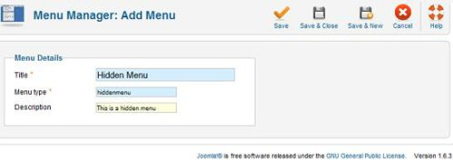 Joomla new menu Joomla 1.6   How to Redirect Login to Hidden Article