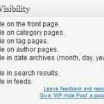 wp hide post hide options 150x150 Wordpress Help   How to hide posts on Frontpage