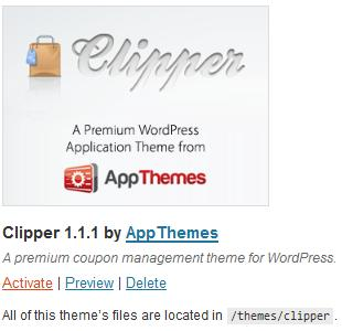 Clipper coupon template activate Best Groupon Themes