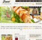 Click to visit Feast Restaurant Template