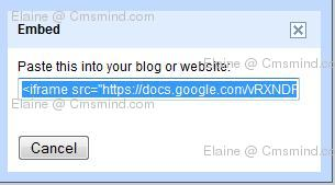 Joomla 17 elaine cmsmind google form embed code Joomla 1.7 Help   How to Embed Google Forms into an Article