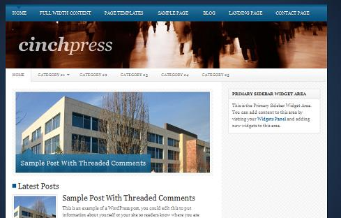 Wordpress Thesis Child Theme CinchPress