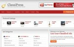 Click to visit ClassiPress Classifieds Theme