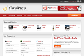ClassiPress Classified Ads Theme