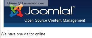 Joomla 1.7 Visitor Who's Online