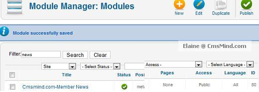 joomla 17 cmsmind elaine 3a metamod position id metamod Joomla 1.7 Extensions   How to Hide Modules from Registered Users
