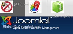 joomla 17 elaine cmsmind menu images Joomla 1.7   How to Use Images as Menu Items Instead of Text