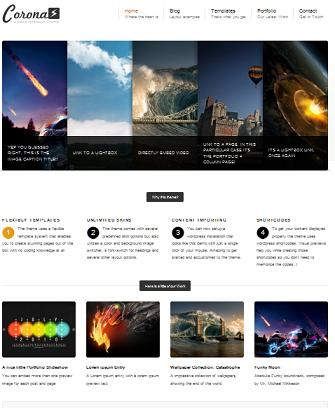 photography portfolio wordpress theme corona Cost to Create a Portfolio Website with Wordpress Corona