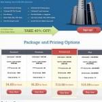 Webhosting Template WordPress by Templatic