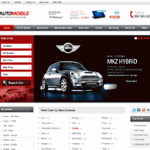 Click to visit Automobile Dealership Theme