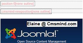 cmsmind elaine 1 template new module position Joomla 1.7   How to Add a New Module Position In Joomla Template