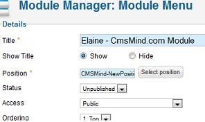 cmsmind elaine 4 template new module position module manager Joomla 1.7   How to Add a New Module Position In Joomla Template