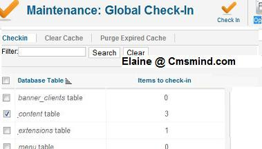 cmsmind elaine joomla global check in locked articles Joomla 1.7 Tutorial   What is the Lock Icon?