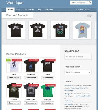 Ecommerce Theme – Create an Online Store for FREE With WordPress ...