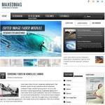 Joomla 1.7 Magazine Template Maxed Mag
