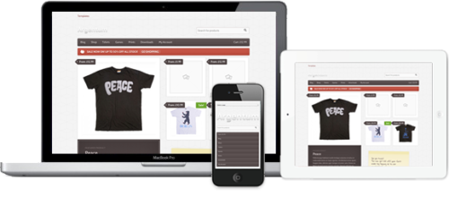 online store argentum smartphone How to Create an Online Store with Wordpress Argentum