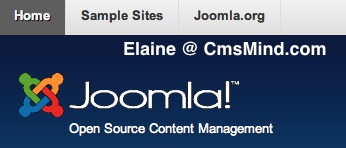 cmsmind joomla 173 elaine remove caps mainmenu text 1 Joomla 1.7.3 Tutorial   How to Remove the Caps from the Main Menu in the Top Position