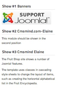 Joomla 1.7 Modules Sorted as I want Them