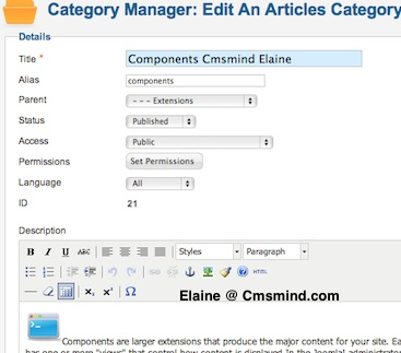 cmsmind elaine subcategories images 5 Joomla 1.7 Help   How to Display Subcategories with Descriptive Images