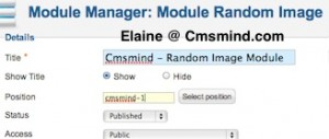 cmsmind joomla 17 show modules on frontpage 5 300x127 Joomla 1.7 Tutorial   How to Show Modules on Frontpage instead of Featured Articles