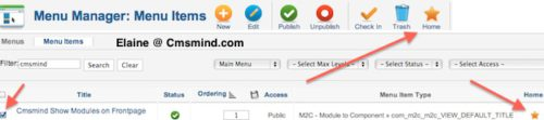 cmsmind joomla 17 show modules on frontpage 8 Joomla 1.7 Tutorial   How to Show Modules on Frontpage instead of Featured Articles