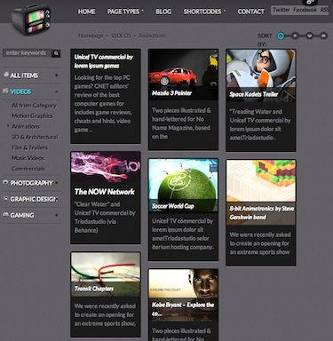 cmsmind wordpress video template 2 Cost to Make Video Blog Website with Video Grid