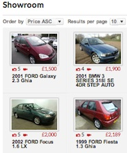Auto Pros Car Showroom Car Listing Page