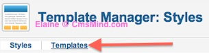 cmsmind elaine joomla25 change footer 2 Joomla 2.5 Tutorial   How to Remove the Close Info Open Info in Beez 20