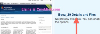 cmsmind elaine joomla25 change footer 3 Joomla 2.5 Tutorial   How to Remove the Close Info Open Info in Beez 20