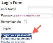 cmsmind elaine joomla25 forgot super admin password 1 How to Reset Super Administrator Password in Joomla 2.5