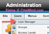 cmsmind elaine joomla25 hide create account 2 Joomla 2.5 Tutorial   Remove Basic Settings from User Profile