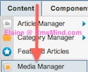 cmsmind elaine joomla25 media manager mass upload 1 Joomla 2.5 Tutorial   How to Create New Folder in Media Manager