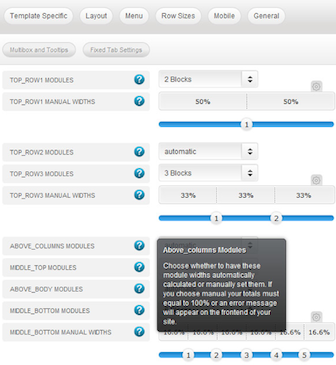 cmsmind joomla 2 5 magazine cyan admin 1 Joomla 2.5 Template   Create a Professional Business Website with Cyan