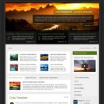 cmsmind joomla 2 5 magazine template cyan 150x150 Website Clones and Templates