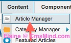 cmsmind joomla 25 remove article title from read more link 2 Joomla 2.5 Tutorial   Where is the Trash Manager?