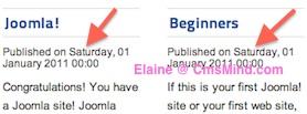 cmsmind joomla hide article details frontpage 2 Joomla 2.5 Tutorial   How to Hide Article Details on Home Page