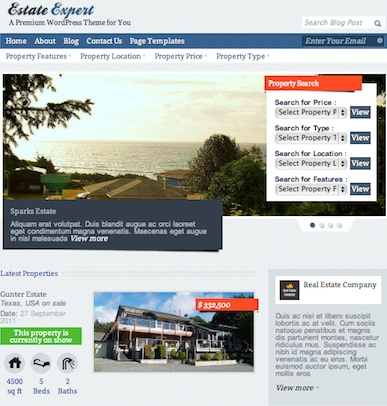 cmsmind real estate estate expert wordpress property manager 1 Cost to Create a Real Estate Website with Estate Expert Wordpress Theme
