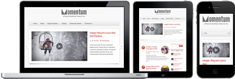 cmsmind wordpress blog journal momentum responsive 5 Create a Unique Personal Blog with Wordpress Momentum
