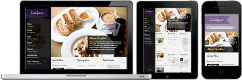 Indulgence Restaurant WordPress Theme