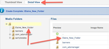 cmsmind joomla 2 5 media manager new folder 2 Joomla 2.5 Tutorial   How to Create New Folder in Media Manager