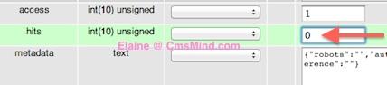 cmsmind joomla 2 5 reset article hit count 7 Joomla 2.5   How to Reset Article Hits Counter